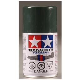 Click here to learn more about the Tamiya America, Inc Aircraft Spray AS-1 Dark Green, Acrylic.