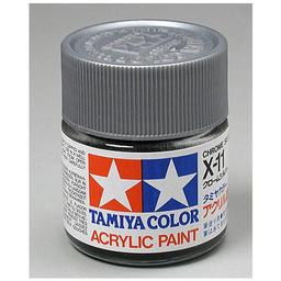 Click here to learn more about the Tamiya America, Inc Acrylic X11 Gloss,Chrome Silver.