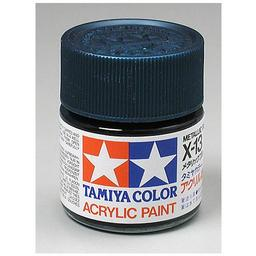 Click here to learn more about the Tamiya America, Inc Acrylic X13 Gloss,Metal Blue.