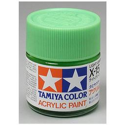 Click here to learn more about the Tamiya America, Inc Acrylic X15 Gloss,Light Green.