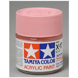 Click here to learn more about the Tamiya America, Inc Acrylic X17 Gloss,Pink.