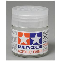 Click here to learn more about the Tamiya America, Inc Acrylic X21 Flat Base.