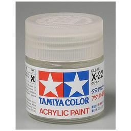 Click here to learn more about the Tamiya America, Inc Acrylic X22 Gloss,Clear.