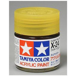Click here to learn more about the Tamiya America, Inc Acrylic X24 Gloss,Clear Yellow.