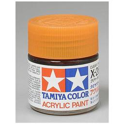 Click here to learn more about the Tamiya America, Inc Acrylic X26 Gloss,Clear Orange.