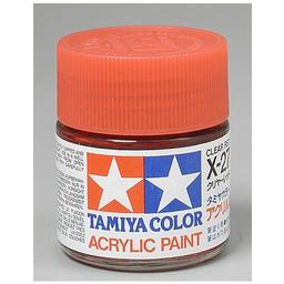 Click here to learn more about the Tamiya America, Inc Acrylic X27 Gloss, Clear Red.