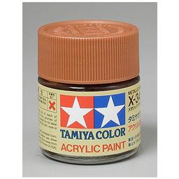 Click here to learn more about the Tamiya America, Inc Acrylic X34, Metallic Brown.