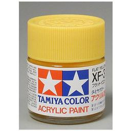 Click here to learn more about the Tamiya America, Inc Acrylic XF3 Flat, Yellow.