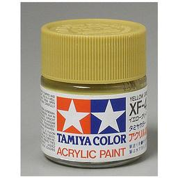 Click here to learn more about the Tamiya America, Inc Acrylic XF4 Flat, Yellow Green.