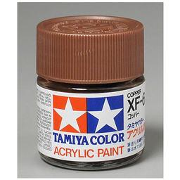 Click here to learn more about the Tamiya America, Inc Acrylic XF6 Flat, Copper.