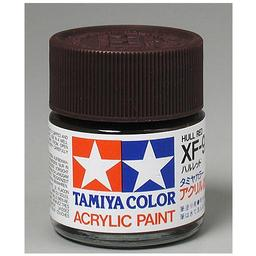 Click here to learn more about the Tamiya America, Inc Acrylic XF9 Flat, Hull Red.