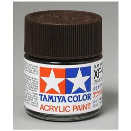 Click here to learn more about the Tamiya America, Inc Acrylic XF10 Flat, Brown.