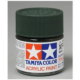 Click here to learn more about the Tamiya America, Inc Acrylic XF11 Flat, Jungle Green.