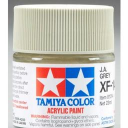 Click here to learn more about the Tamiya America, Inc Acrylic XF14 Flat, J.A.Gray.