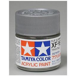 Click here to learn more about the Tamiya America, Inc Acrylic XF16 Flat, Aluminum.
