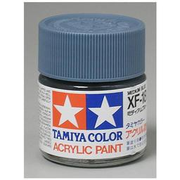 Click here to learn more about the Tamiya America, Inc Acrylic XF18 Flat, Med Blue.