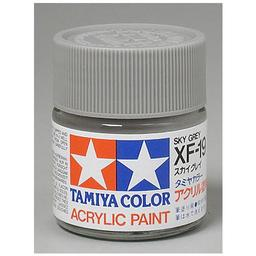 Click here to learn more about the Tamiya America, Inc Acrylic XF19 Flat, Sky Grey.