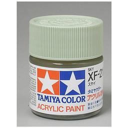 Click here to learn more about the Tamiya America, Inc Acrylic XF21 Flat, Sky.