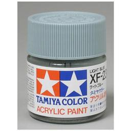 Click here to learn more about the Tamiya America, Inc Acrylic XF23 Flat, Light Blue.