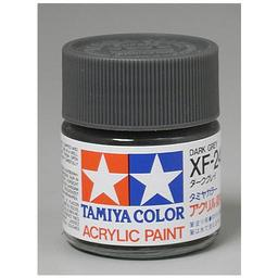 Click here to learn more about the Tamiya America, Inc Acrylic XF24, Flat Dark Gray.