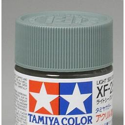 Click here to learn more about the Tamiya America, Inc Acrylic XF25 Flat, Light Sea Gray.
