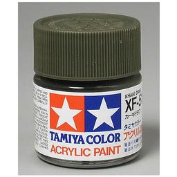 Click here to learn more about the Tamiya America, Inc Acrylic XF51 Flat, Khaki Drab.
