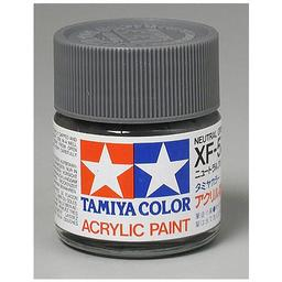Click here to learn more about the Tamiya America, Inc Acrylic XF53, Flat Neutral Gray.