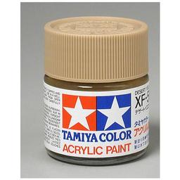 Click here to learn more about the Tamiya America, Inc Acrylic XF59, Flat Desert Yel.