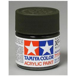Click here to learn more about the Tamiya America, Inc Acrylic XF62, Flat Olive Drab.
