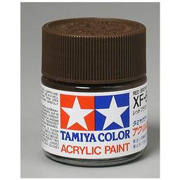 Click here to learn more about the Tamiya America, Inc Acrylic XF64, Flat Red Brown.