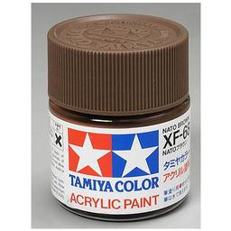 Click here to learn more about the Tamiya America, Inc Acrylic XF68, NATO Brown.