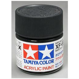 Click here to learn more about the Tamiya America, Inc Acrylic XF69, NATO Black.