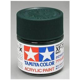 Click here to learn more about the Tamiya America, Inc Acrylic XF70 Dark Green.