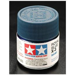Click here to learn more about the Tamiya America, Inc Acrylic Mini X3, Royal Blue.