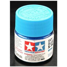 Click here to learn more about the Tamiya America, Inc Acrylic Mini X14, Sky Blue.