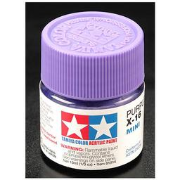 Click here to learn more about the Tamiya America, Inc Acrylic Mini X16, Purple.