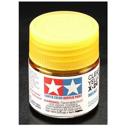 Click here to learn more about the Tamiya America, Inc Acrylic Mini X24, Clear Yellow.