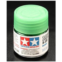 Click here to learn more about the Tamiya America, Inc Acrylic Mini X25, Clear Green.