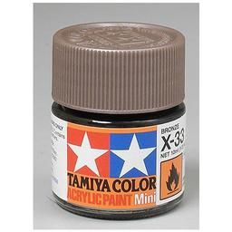 Click here to learn more about the Tamiya America, Inc Acrylic Mini X33, Metallic Bronze.