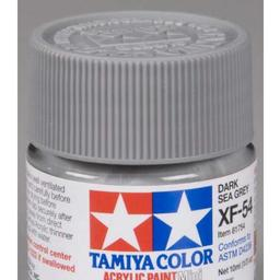 Click here to learn more about the Tamiya America, Inc Acrylic Mini XF54, Dk Sea Grey.
