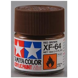 Click here to learn more about the Tamiya America, Inc Acrylic Mini XF64, Red Brown.