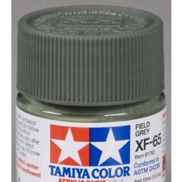 Click here to learn more about the Tamiya America, Inc Acrylic Mini XF65, Field Grey.