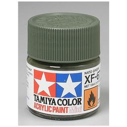 Click here to learn more about the Tamiya America, Inc Acrylic Mini XF67, NATO Green.