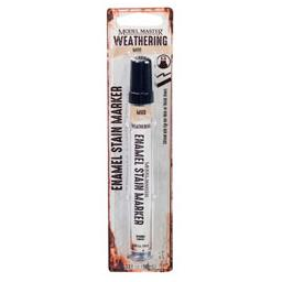 Click here to learn more about the Testor Corp. Model Master .33oz Enamel Stain Markers - Mud.
