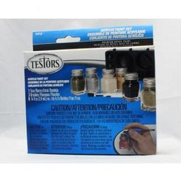 Click here to learn more about the Testor Corp. 1/4oz, Acrylic Set , 6pk,  Camo Colors.