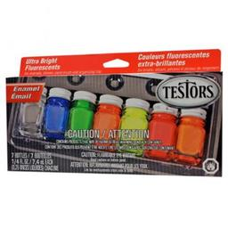 Click here to learn more about the Testor Corp. Enamel Kit: Fluorescent.