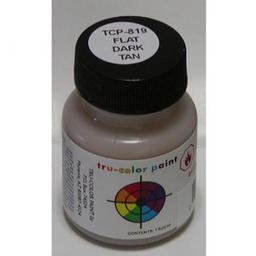 Click here to learn more about the Tru-Color Paint Brushable Flat Dark Tan, 1oz.