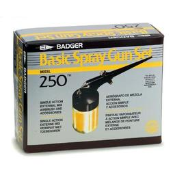 Click here to learn more about the Badger Air-Brush Co. 250 Spray Gun Basic Set.