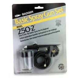 Click here to learn more about the Badger Air-Brush Co. 250 Spray Gun Basic Set, Carded.