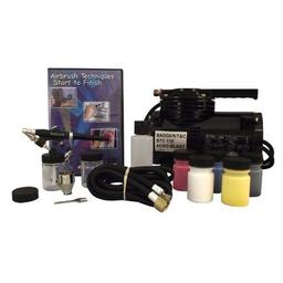 Click here to learn more about the Badger Air-Brush Co. 350 Airbrush Starter Set, with BTC-110 Compressor.